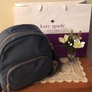 NWT-kate spade medium dawn nylon backpack